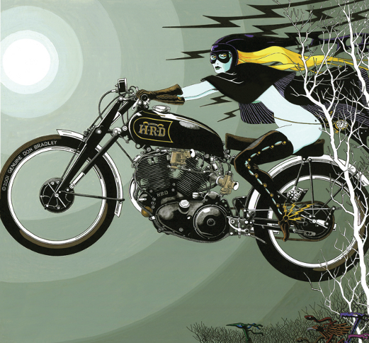 Don Bradley Motorcycle Artist