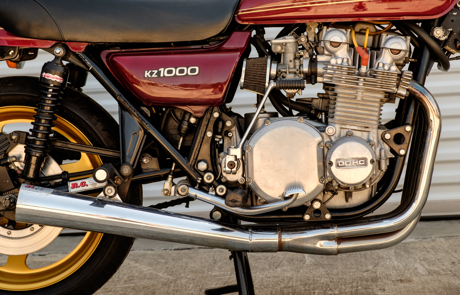 Bid on a 1977 Kawasaki KZ1000 at Riding Into History